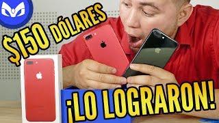 CLON iPhone 7 PLUS ROJO ! POR $150 USD CUIDADO 4K
