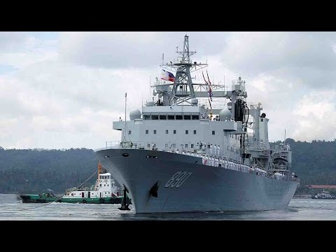 Chinese navy ships complete visit to the Philippines