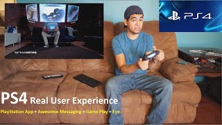 SONY Playstation 4 all around review - Real User Experience - PS4 App + Voice Controls