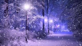 Зима. Снег. Сумерки. Фонарь - Футажи для видеомонтажа бесплатно в Full HD(1080p) качестве