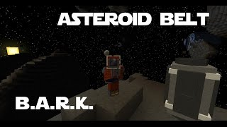 Modded Minecraft - B.A.R.K. 39 - Tier 3 rocket launch to the asteroid belt. ASTEROIDS!