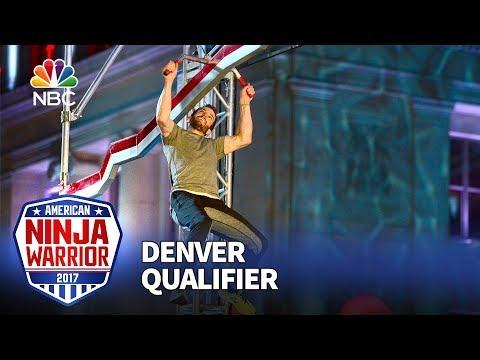 Michael Stanger at the Denver Qualifiers - American Ninja Warrior 2017