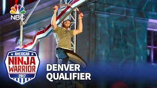 Michael Stanger at the Denver Qualifiers - American Ninja Warrior 2017