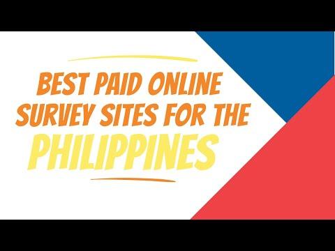 8 Best Legit Paid Survey Sites For The Philippines 2020