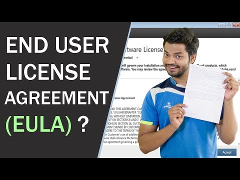 End User License Agreement (EULA) ? EULA Explained in Details