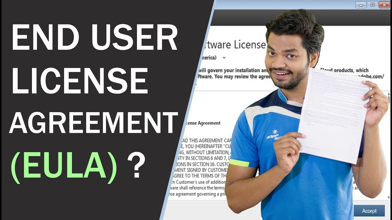 End User License Agreement Eula Eula Explained In Details Youtube