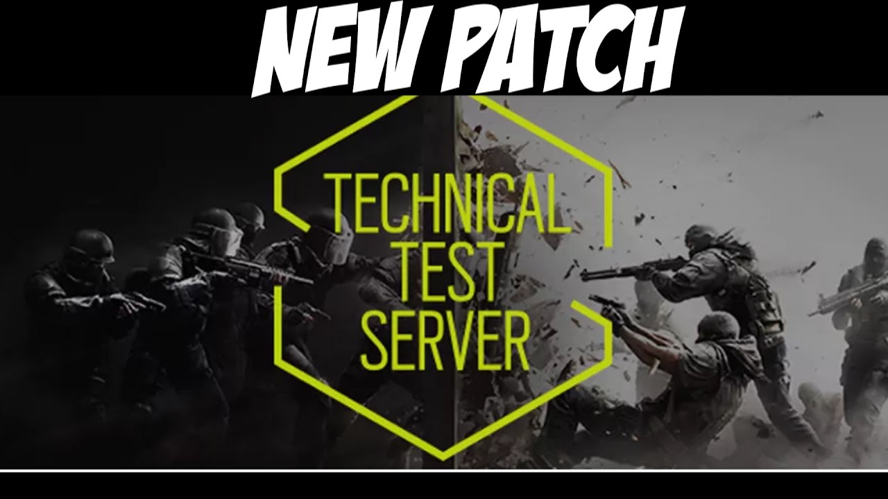 how to use the technical test server for siege
