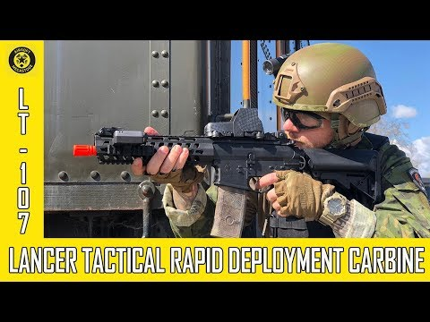 Quick Look - LT-107 Rapid Deployment Carbine from Lancer Tactical Airsoft Review