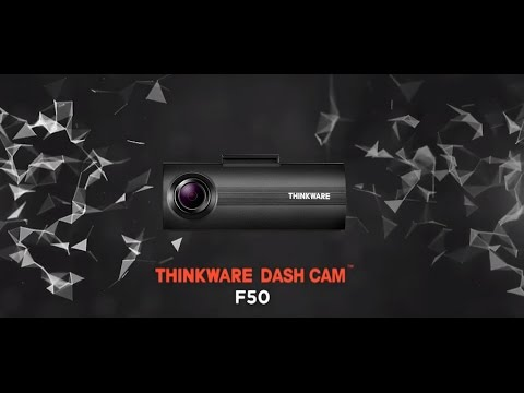 Introducing The Thinkware F50 Dash Cam