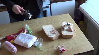 hFM How Fast Make    Как быстро приготовить бутерброд  25 видео выпуск  Юмор, прикол, смешное видео