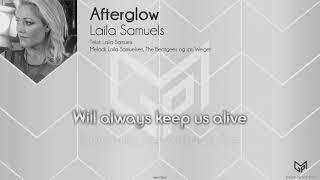 Laila Samuels - Afterglow [OFFICIAL KARAOKE] (Instrumental)