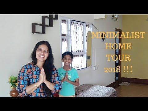 INDIAN MINIMALIST HOME TOUR 2018 !!!