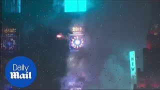 New York City celebrates 2019 as the ball drops in Times Square