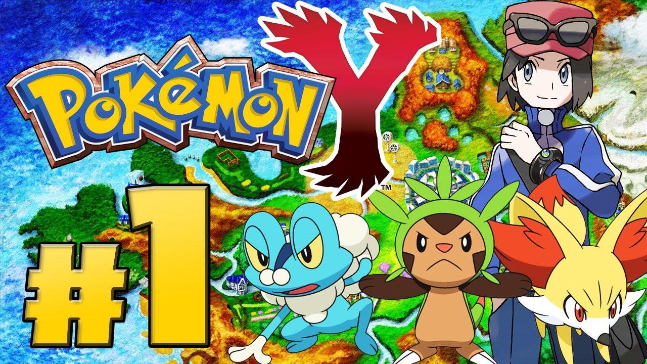Lets Play Pokemon Y