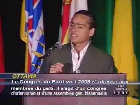 Feinstein speaks to Canadian Green Convention (8/27/06)
