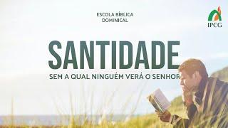 ESCOLA BÍBLICA DOMINICAL 30.05.2021 - AULA 14: A SEGURANÇA DA SALVAÇÃO (FINAL)