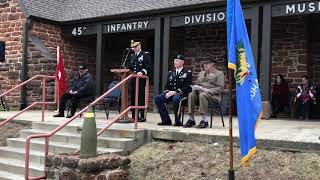 Veterans Day at the 45th Infantry Division Museum