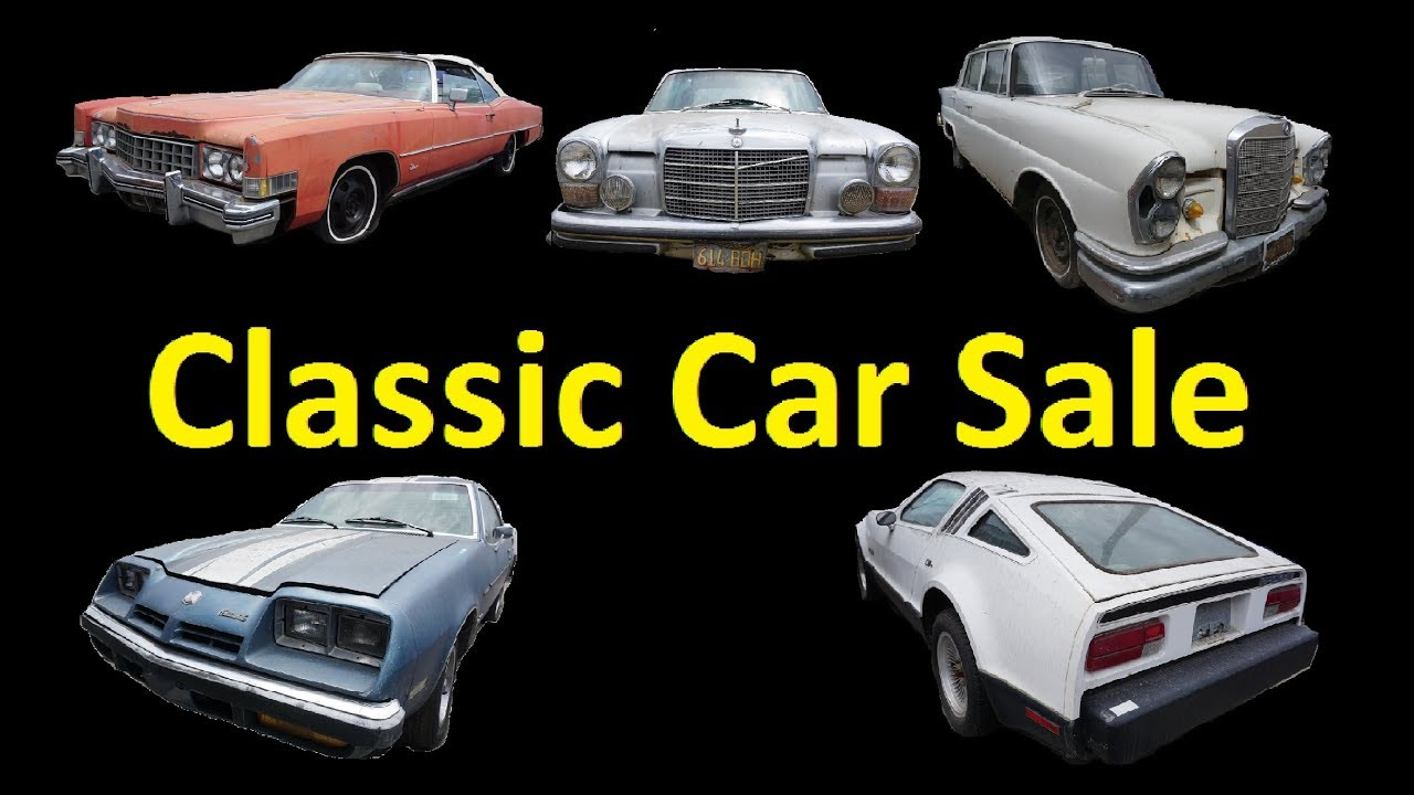 Project Cars For Sale Buy Classic Barn Finds CHEAP Classics $395 ...