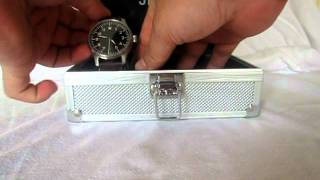 Stowa Flieger without logo and date Watch - Unbox and Review