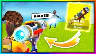 Kid Starts Crying After Getting Killed By Hacker... Fortnite Battle Royale thumbnail