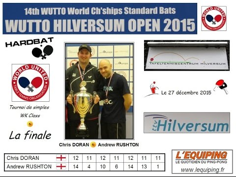 14th WUTTO World Championships Standard Bats-Hardbat_Hilversum Open 2015_Final WK Class