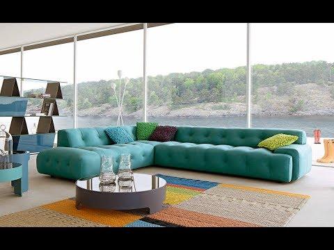 Top 50 Modern L Shape Sofa Set Designs for Living Room 2018- Plan N Design