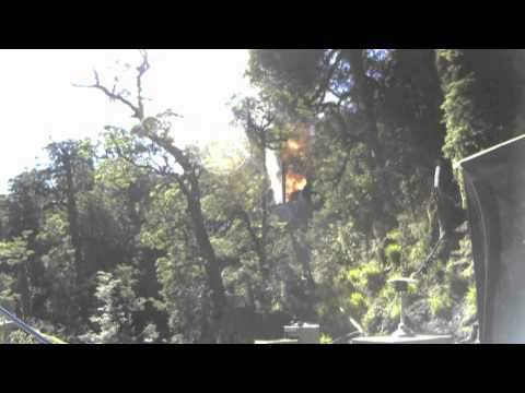 Pike River Mine - Fire After The 4th Explosion