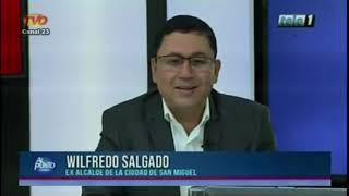 WILL SALGADO EN ENTREVISTA EN EL PROGRAMA AL PUNTO CON SERGIO MENDEZ 13 DE JUNIO DE 2019
