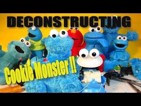 Deconstructing Cookie Monster Count N' Crunch