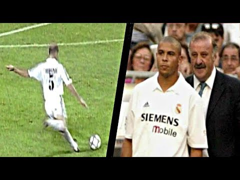 Ronaldo And Zidane ● First Match Together ► Legendary Performances  In 2002