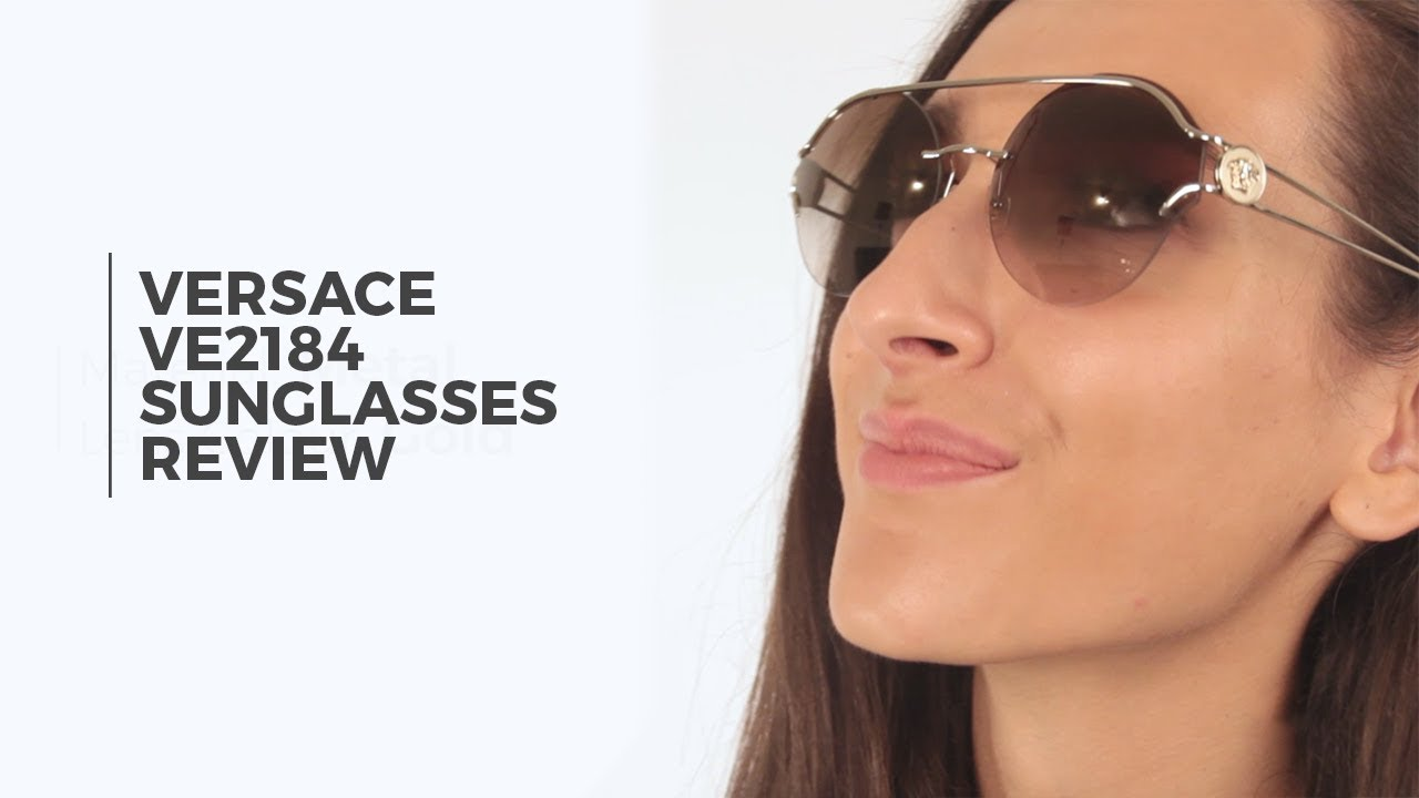 d3cd5fb055 Versace VE2184 Sunglasses Review