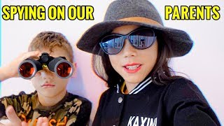 SPYING On Our PARENTS! **GONE WRONG** | Familia Diamond