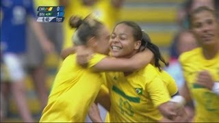 Cameroon 0-5 Brazil -Women's Football Group E | London 2012 Olympics