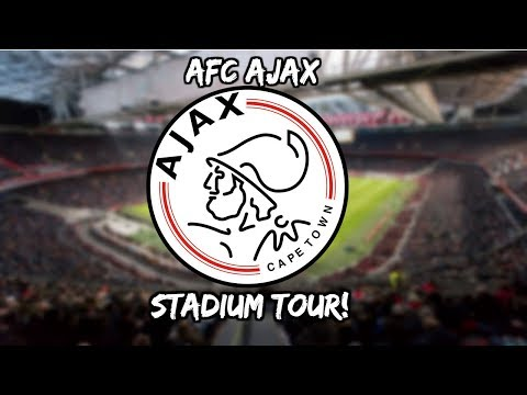 AFC AJAX STADIUM TOUR!!!