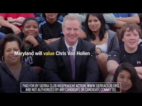 Values - Sierra Club Independent Action - Chris Van Hollen