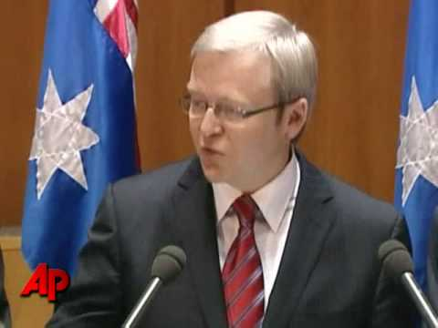 Australian Officials Announce Stimulus Package