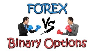 The difference between Forex and Binary Options Trading