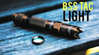 NEW!!!!  Black Scout Survival Tactical Flashlight Video