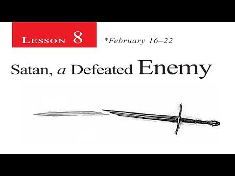 2019 Q1 Lesson 08 – Satan, A Defeated Enemy
