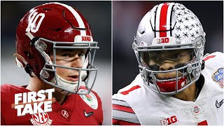 First Take previews Alabama vs. Ohio State in the College Football Playoff National Championship