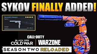 Finally Added the Sykov Pistol to Warzone & its Crazy Broken | Sykov Full Auto Stats and Class Setup