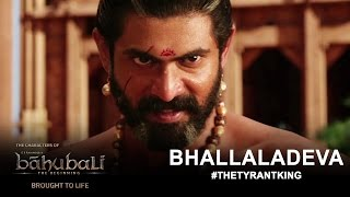 The Characters of Baahubali Brought to Life - Rana Daggubati as Bhallaladeva