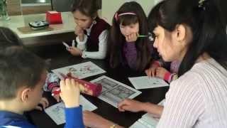 Урок русского языка (старшая группа). Православная Воскресная школа на Северном Кипре.