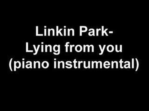 Linkin Park - Lying from you (piano instrumental)