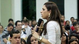 Testemunho da Pastora Larissa Terra Nova - Congresso M12/RN