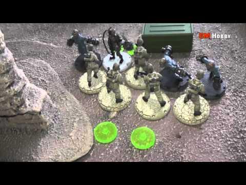 DUST TACTICS Babylon - Axis Wehrmacht vs Blutkreuz Korps (juego 29)