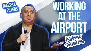 Working at the Airport  Russell Peters - Almost Famous