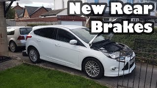 How to Replace Ford Focus MK3 Rear Brake Discs and Pads