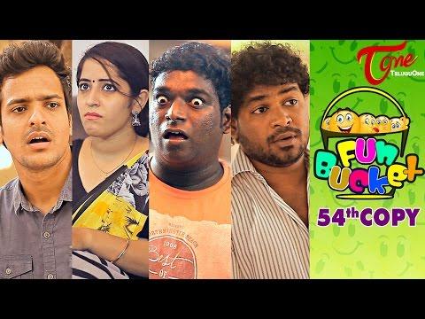 Fun Bucket   54th Copy   Funny Videos   by Harsha Annavarapu   #TeluguComedyWebSeries