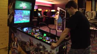 Classic Game Room - THE WIZARD OF OZ pinball machine review